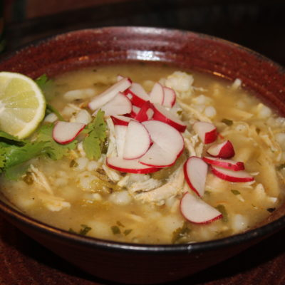 Ol' Gringo Green Chile Chicken Posole