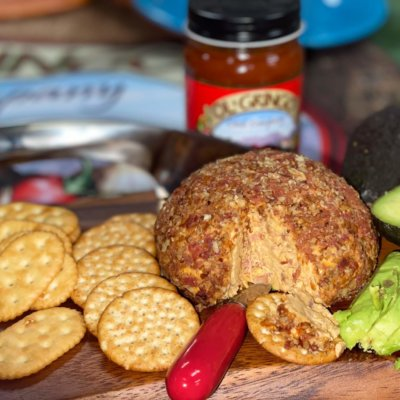 Ol' Gringo Red Chile Bacon Cheese Ball