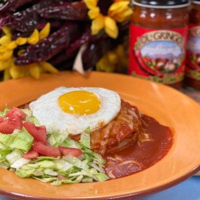 Ol' Gringo Red Enchiladas