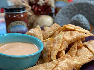 Ol' Gringo Red Chile Wontons
